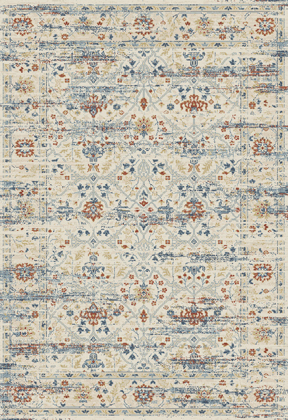 Dynamic ESSENCE 55820 IVORY/MULTI Rug