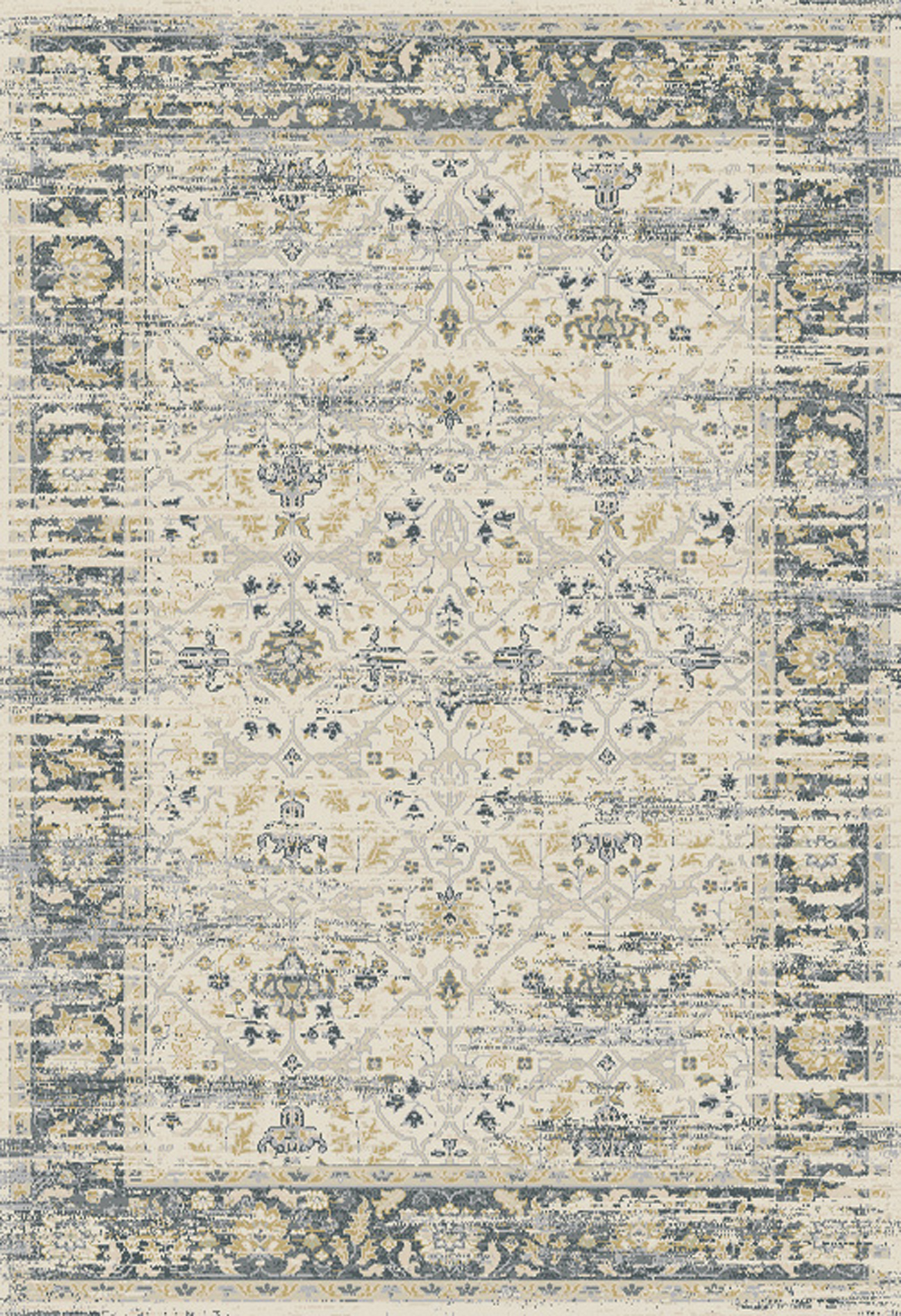 Dynamic ESSENCE 55820 IVORY/GREY Rug