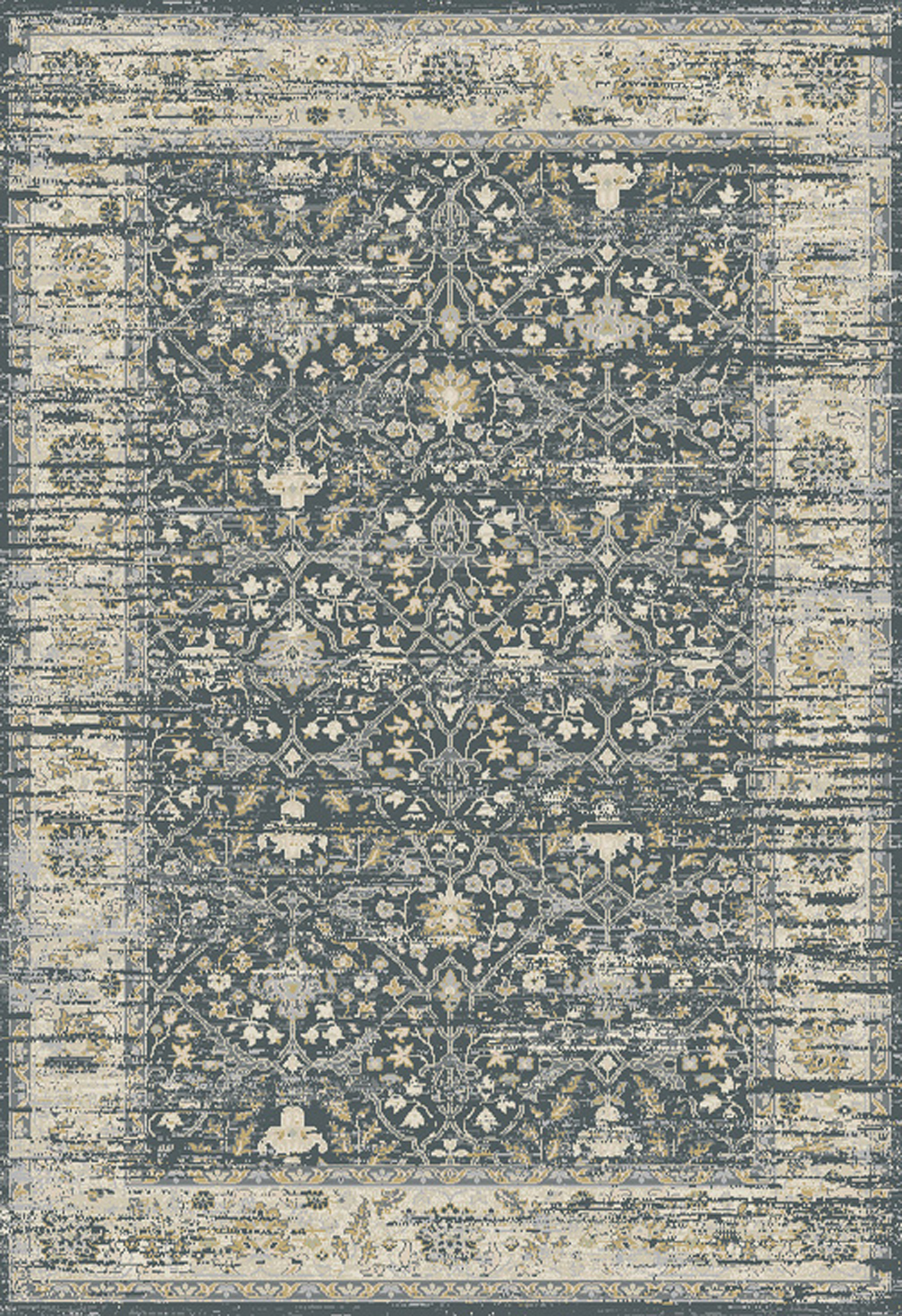 Dynamic ESSENCE 55820 DARK GREY/IVORY Rug