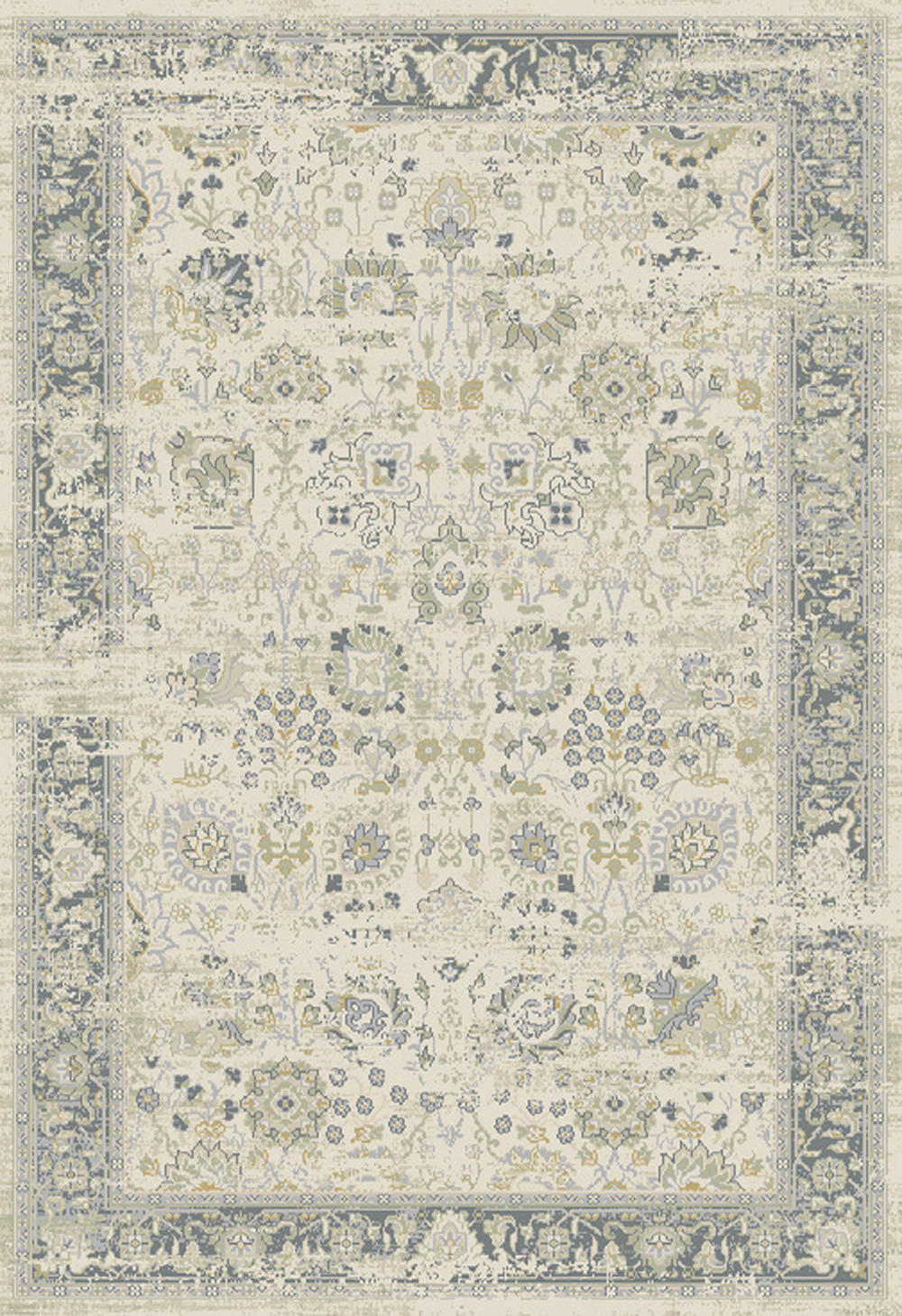 Dynamic ESSENCE 55870 IVORY/LIGHT GREY Rug