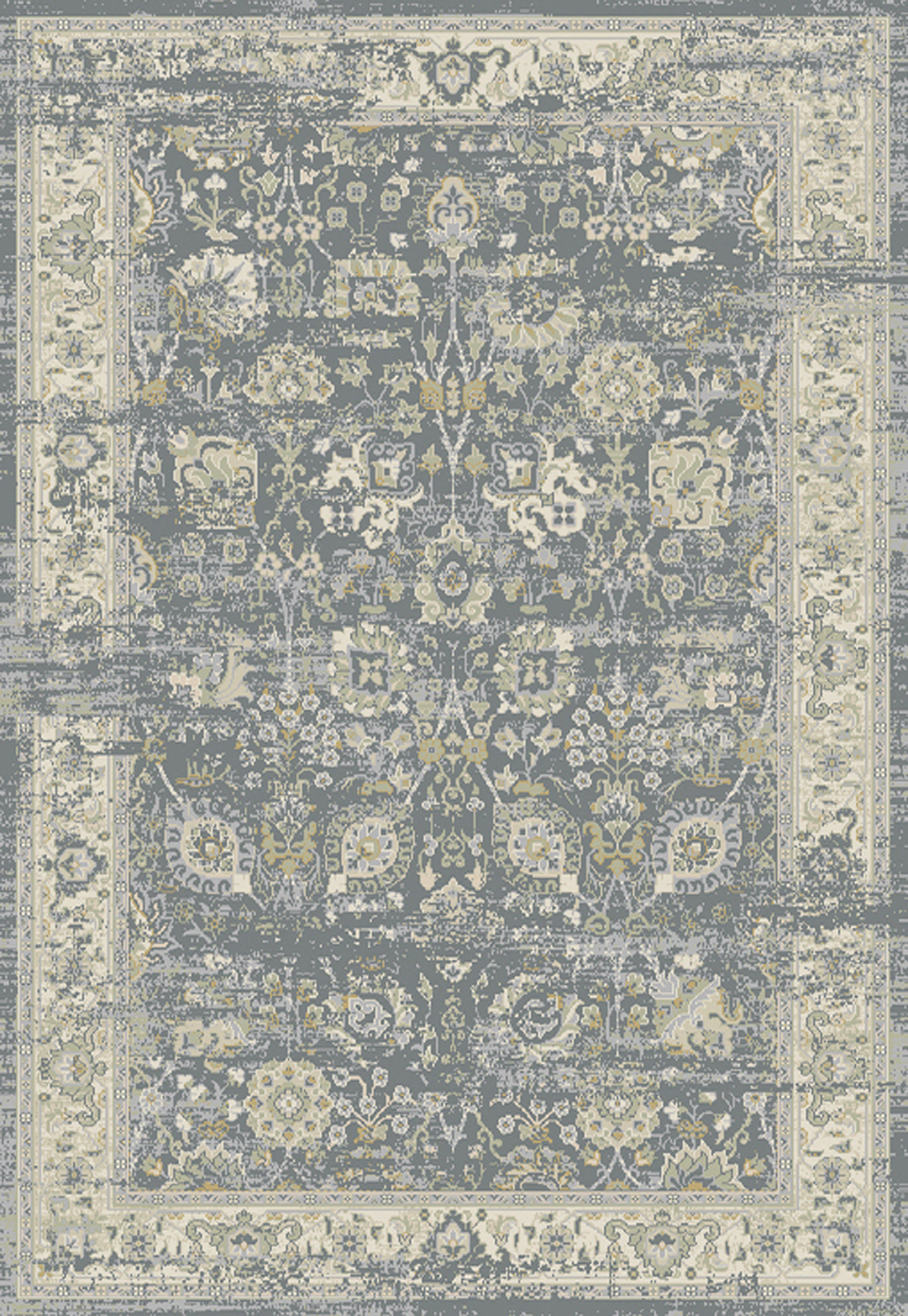 Dynamic ESSENCE 55870 LIGHT GREY/IVORY Rug