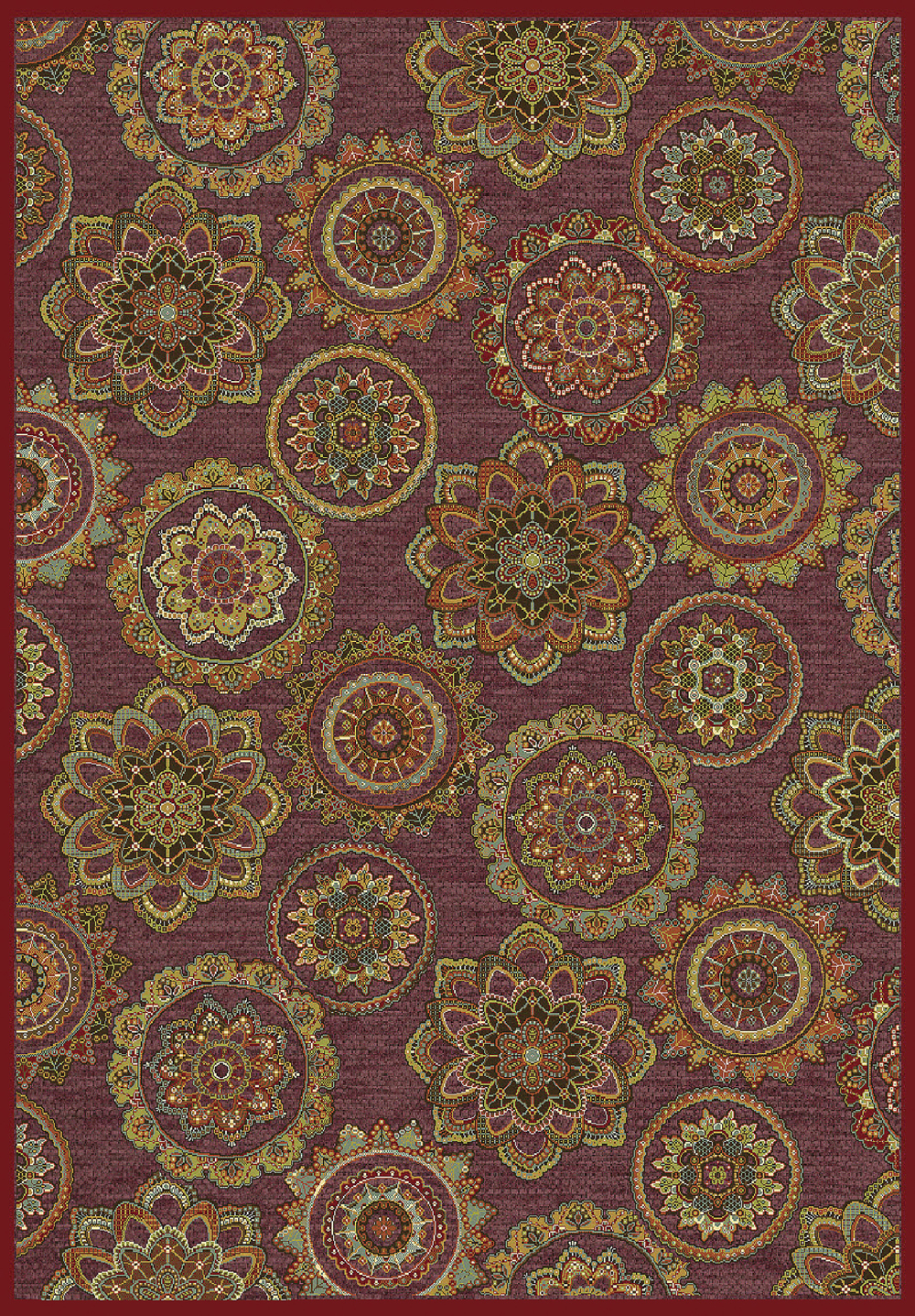 Dynamic GENOVA 38150 RED/MULTI Rug