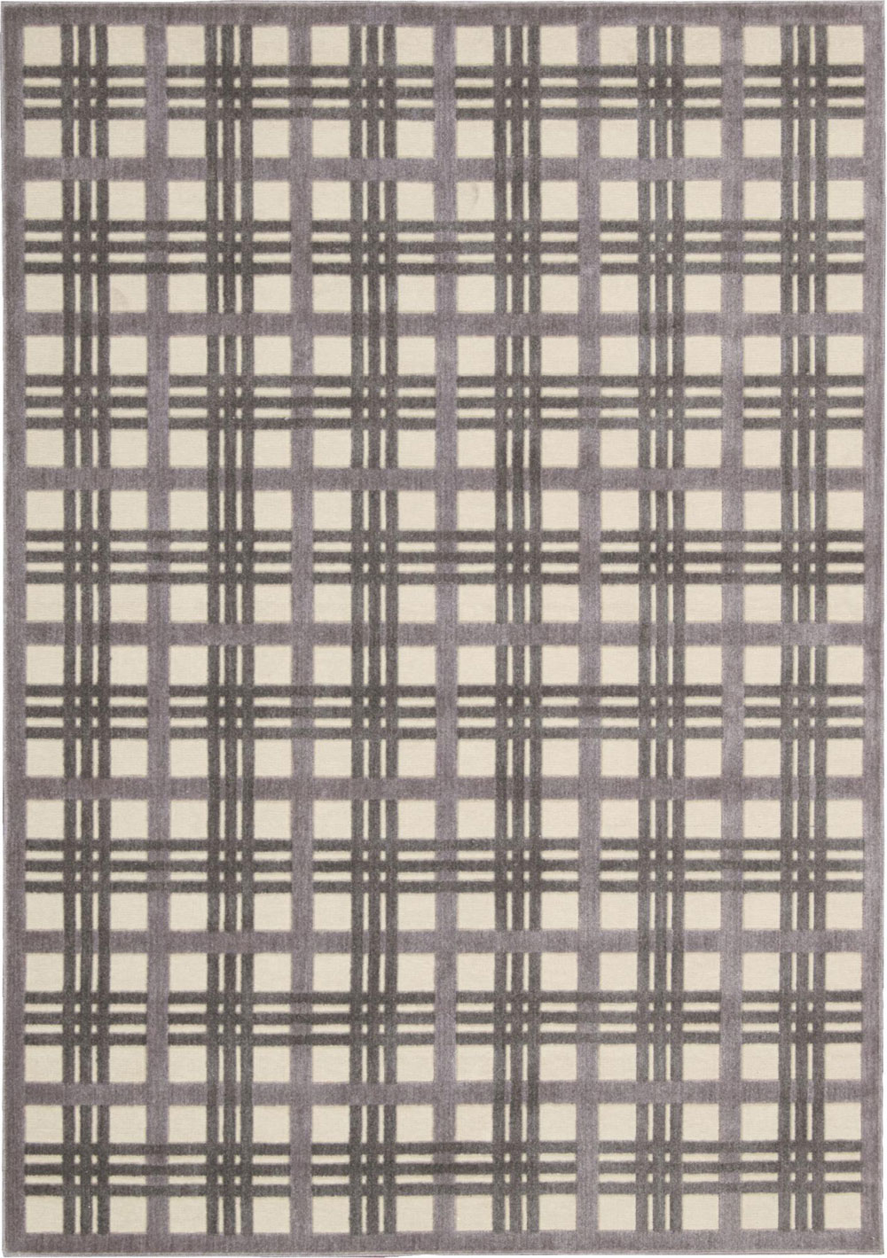 Nourison GRAPHIC ILLUSIONS GIL20 IVORY/TAUPE Rug
