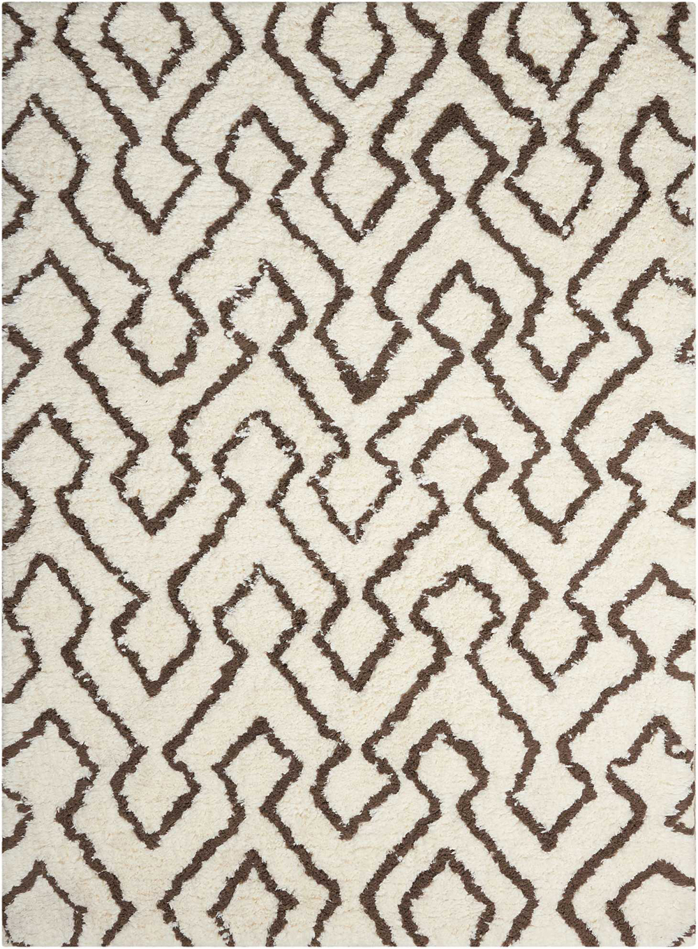 Nourison GALWAY GLW03 IVORY/CHOCOLATE Rug