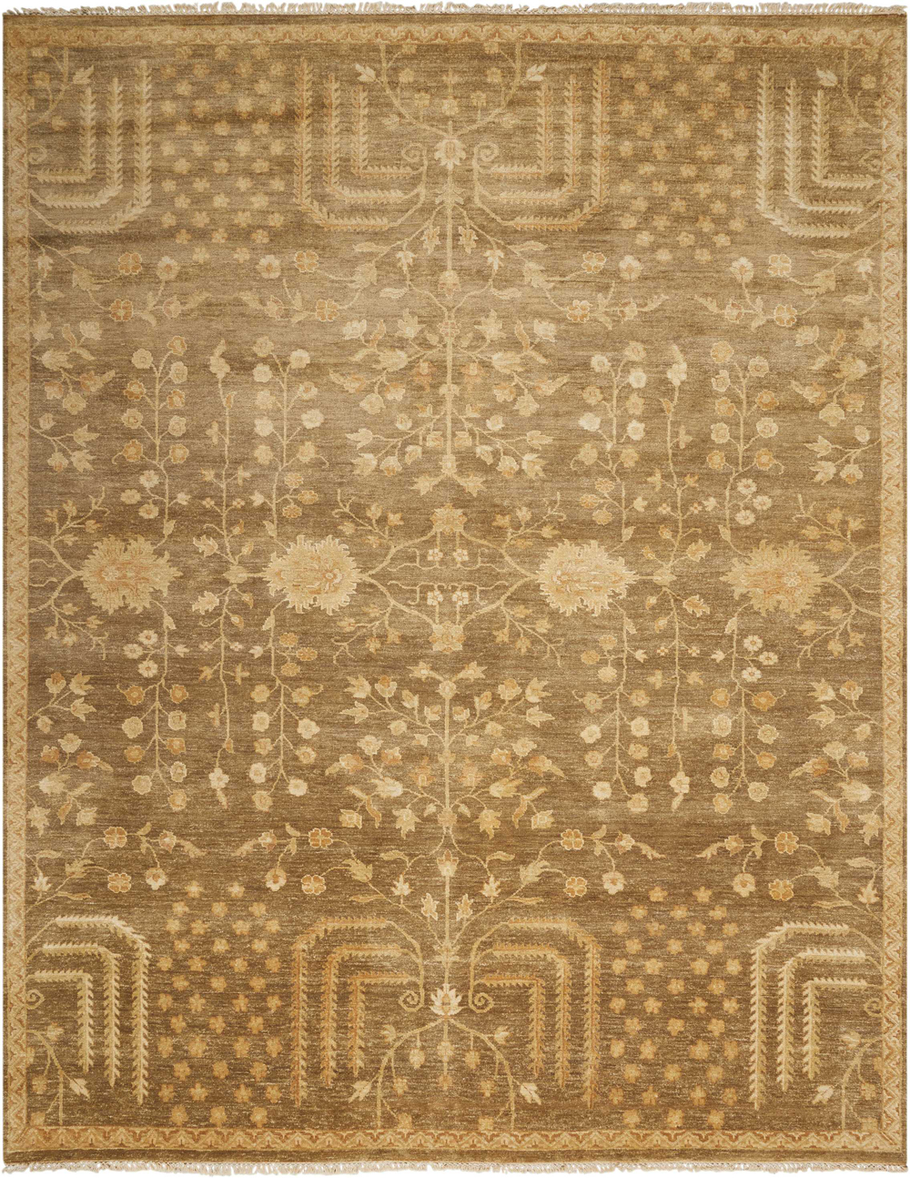 Nourison GRAND ESTATE GRA02 MUSHROOM Rug