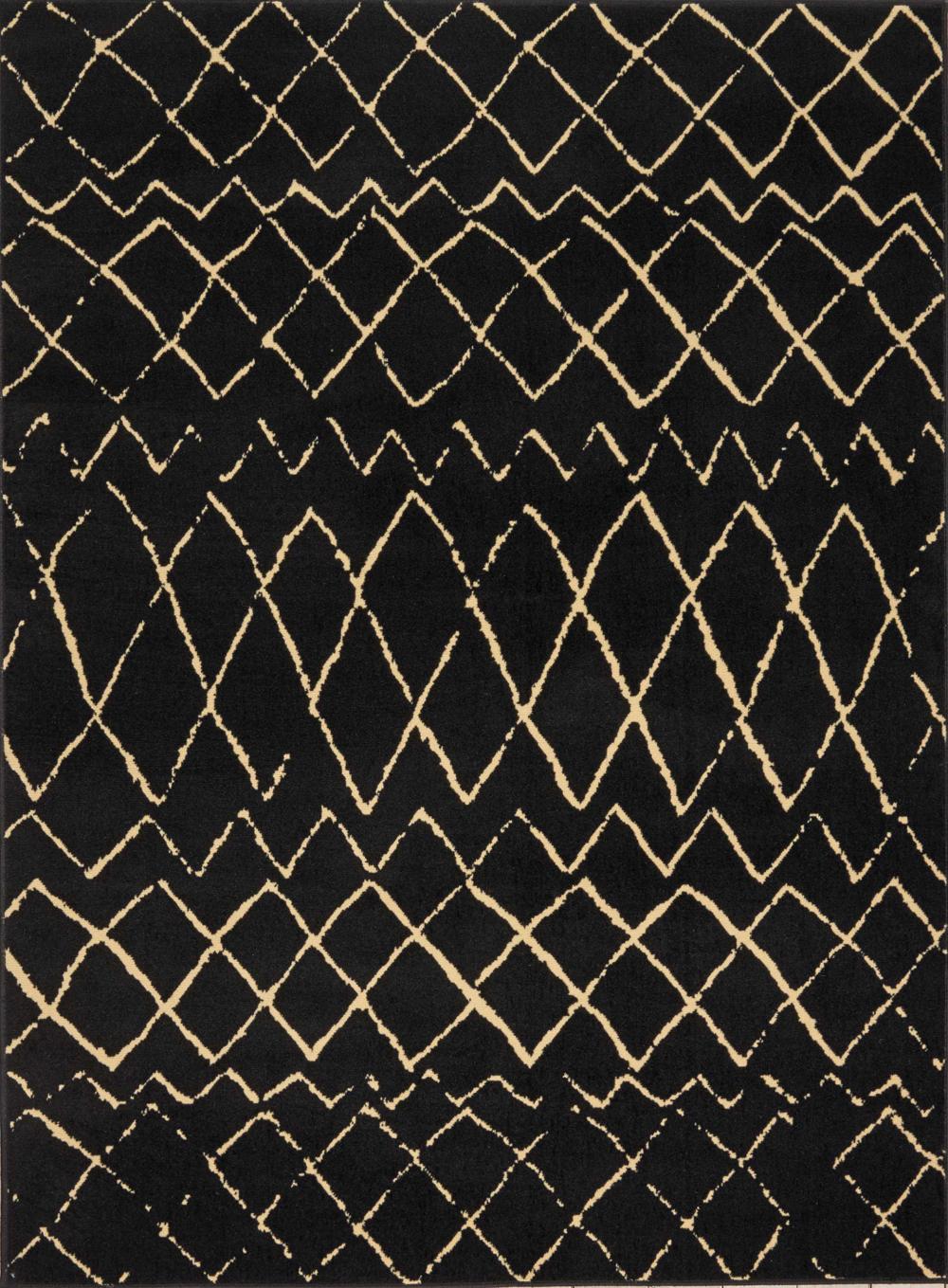 Nourison GRAFIX GRF04 BLACK Rug