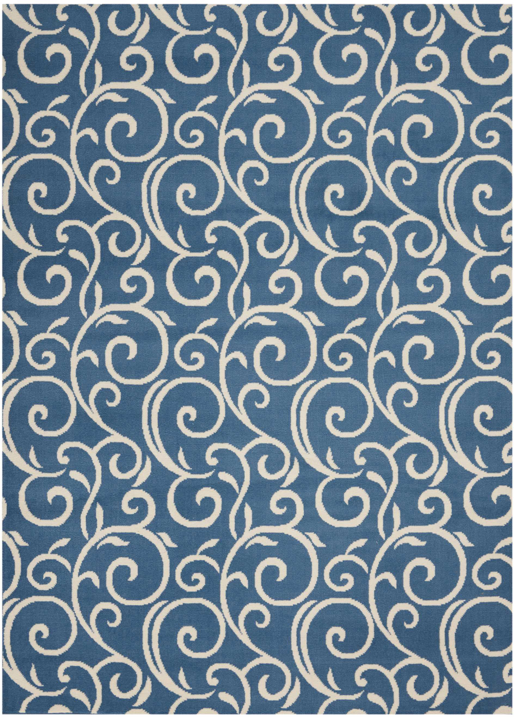 Nourison GRAFIX GRF19 BLUE Rug