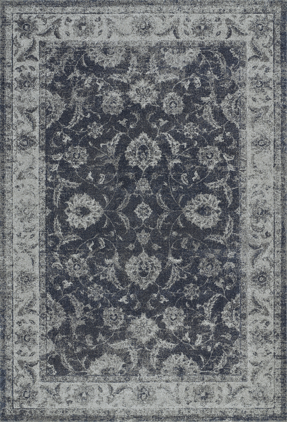 Dalyn Geneva GV4447 Steel Blue Rug