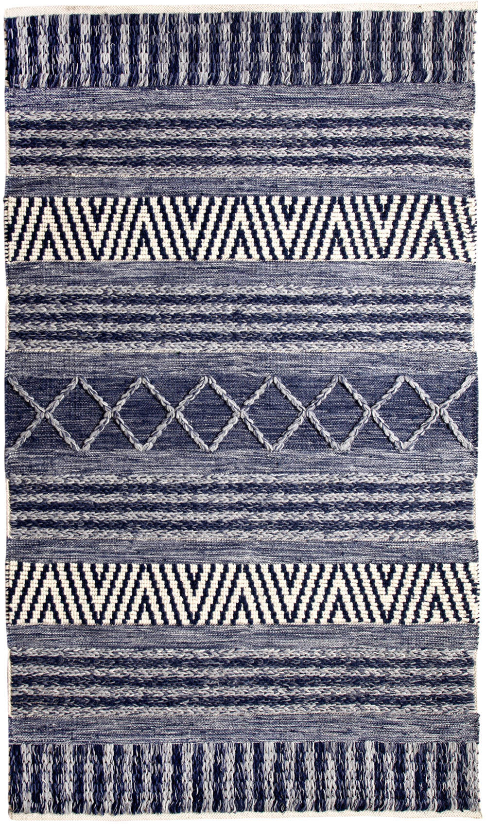 Dynamic HEIRLOOM 91003 BLUE/IVORY Rug