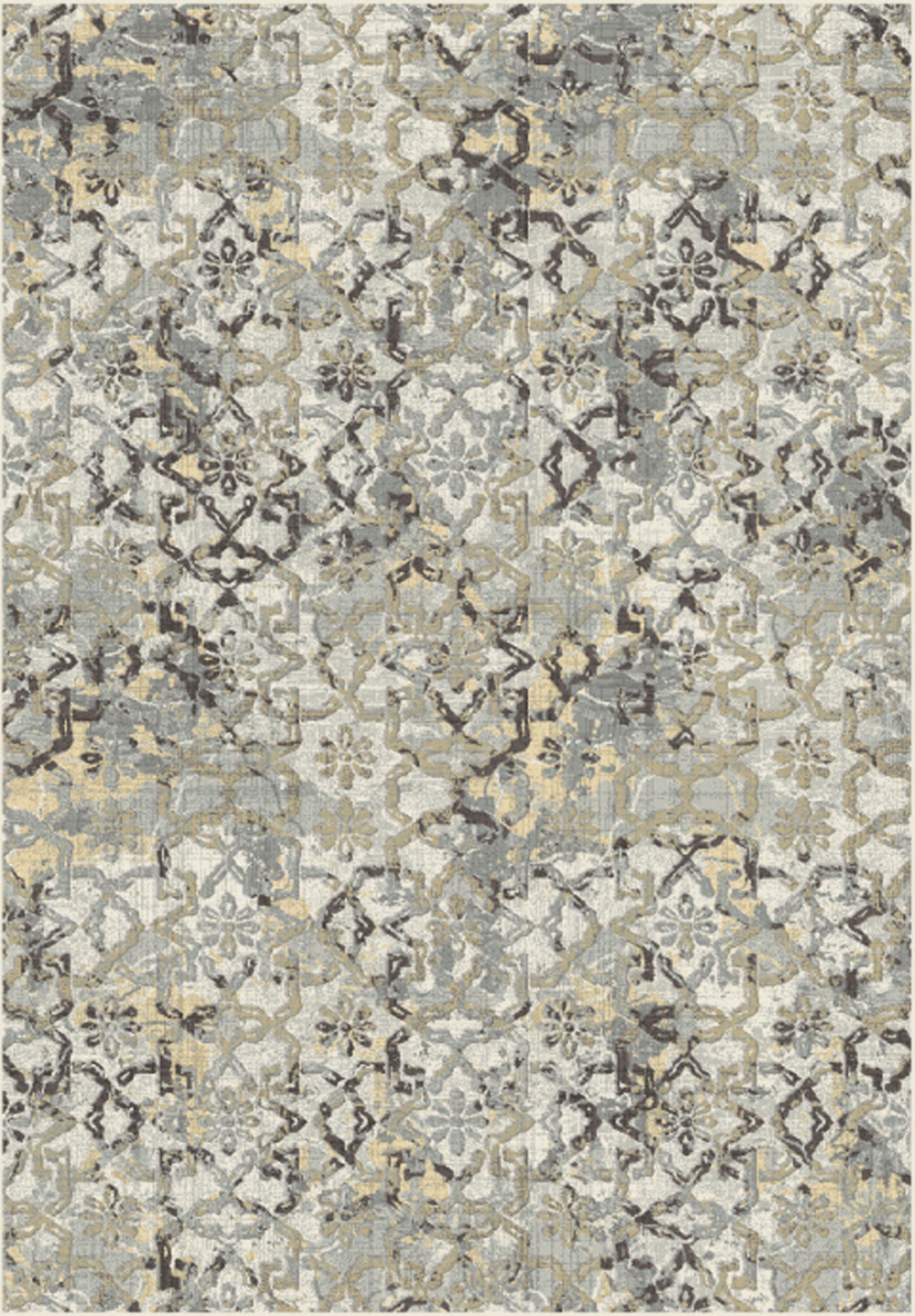 Dynamic HORIZON 989756 TAUPE/GREY Rug