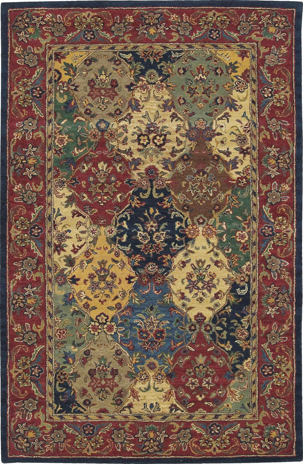 Nourison INDIA HOUSE IH23 MULTICOLOR Rug