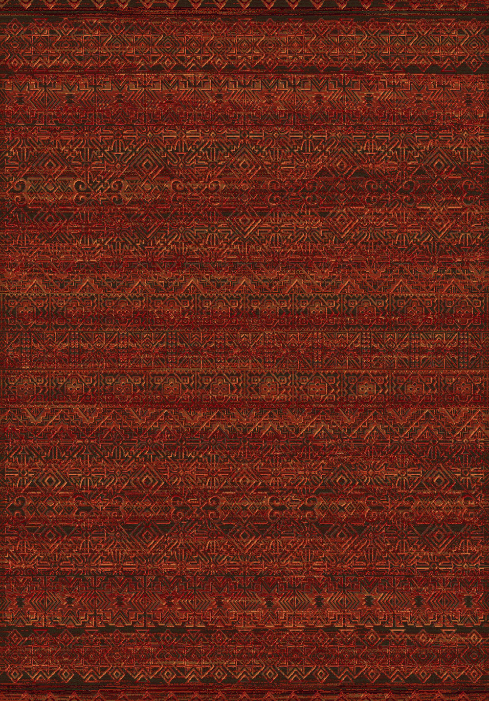 Dynamic IMPERIAL 68331 RED Rug