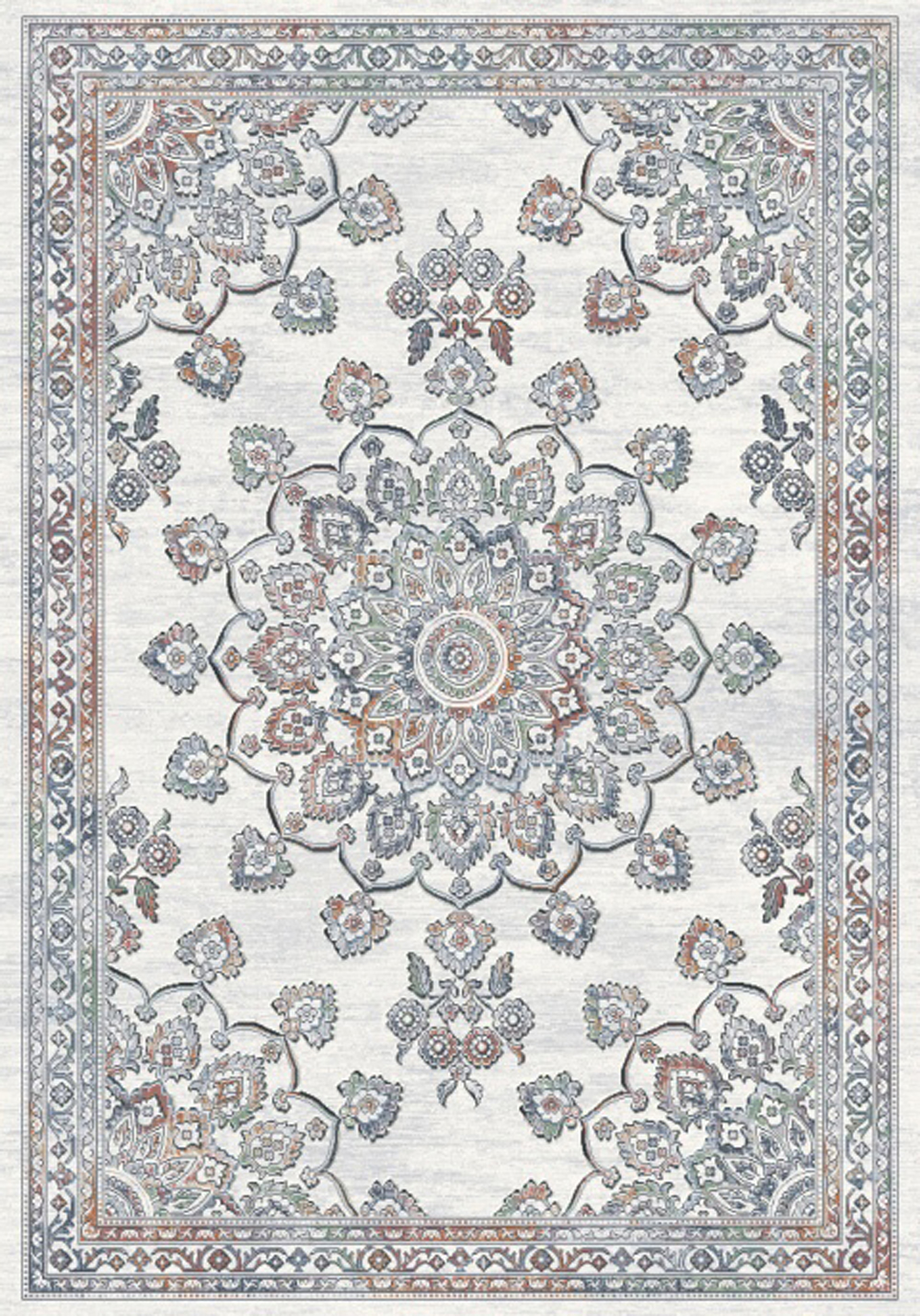 Dynamic IMPERIAL 63420 IVORY/MULTI Rug