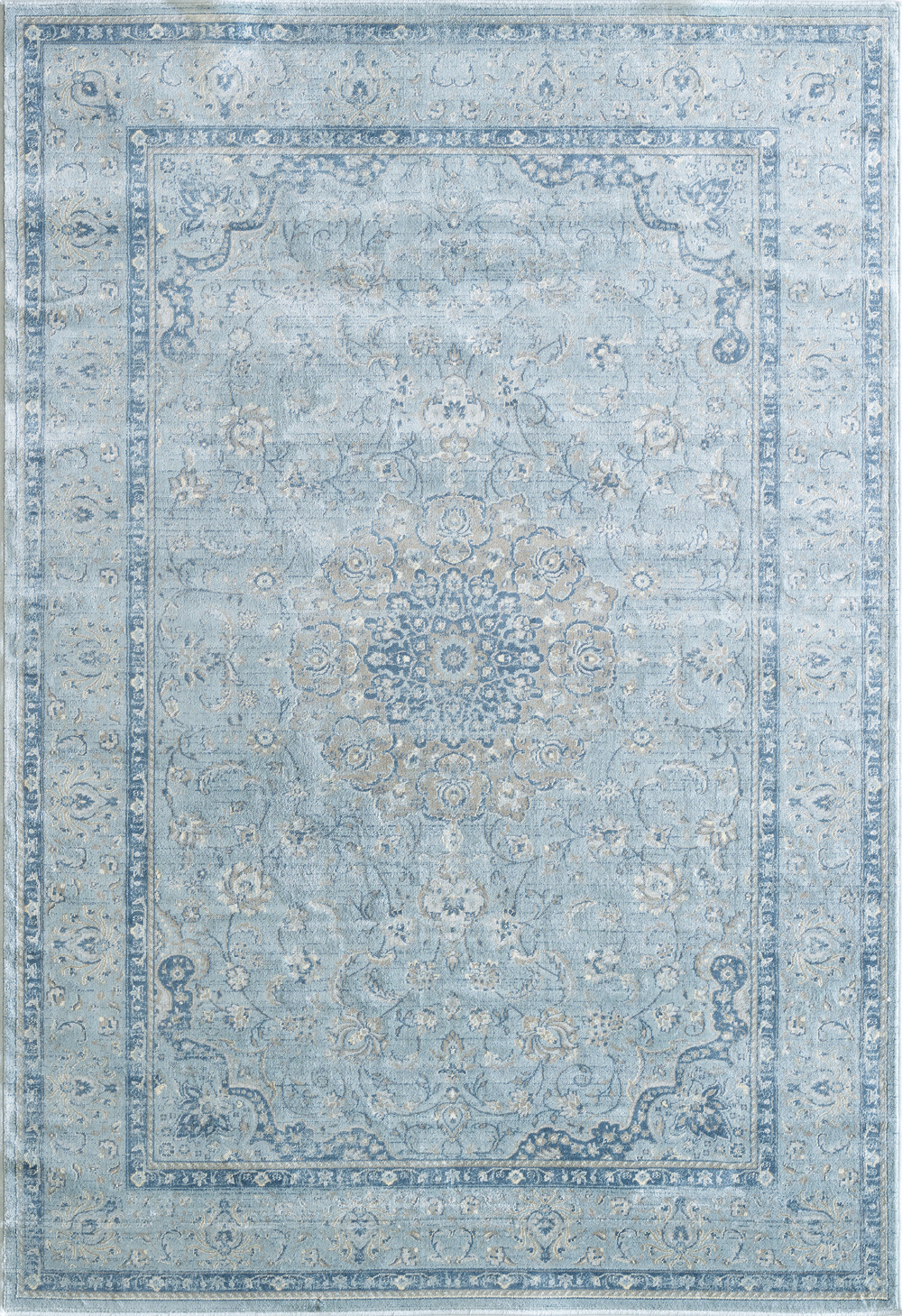 Dynamic ISFAHAN 7255 LIGHT BLUE Rug