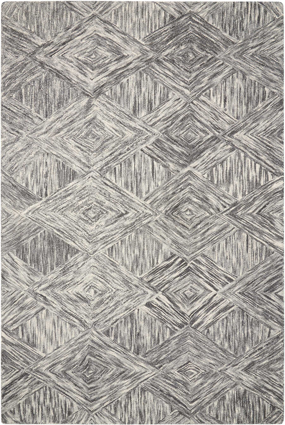 Nourison INTERLOCK ITL01 CHARCOAL Rug