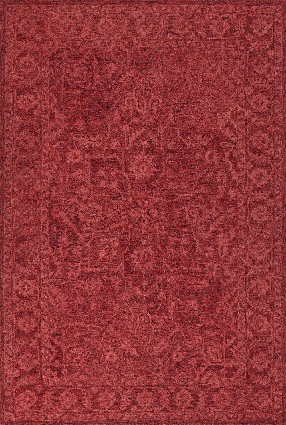 Dalyn Korba KB4 Red Rug