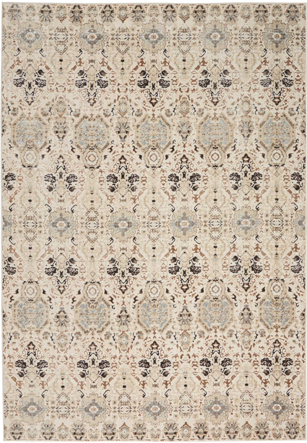 Kathy Ireland KI34 SILVER SCREEN KI341 GREY/SLATE Rug