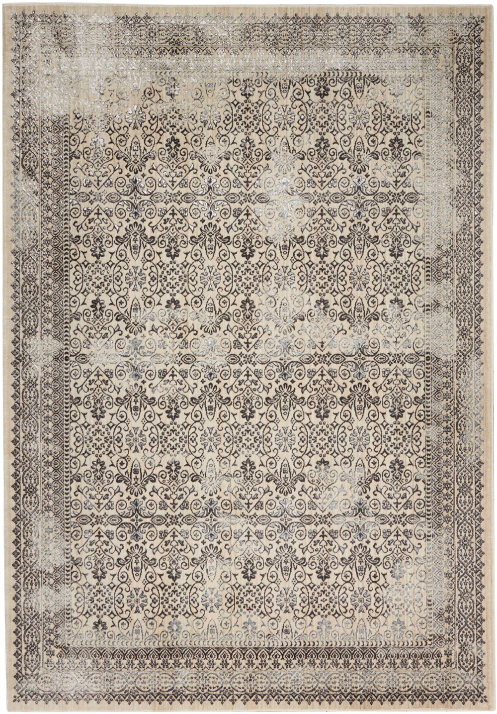 Kathy Ireland KI34 SILVER SCREEN KI342 GREY Rug