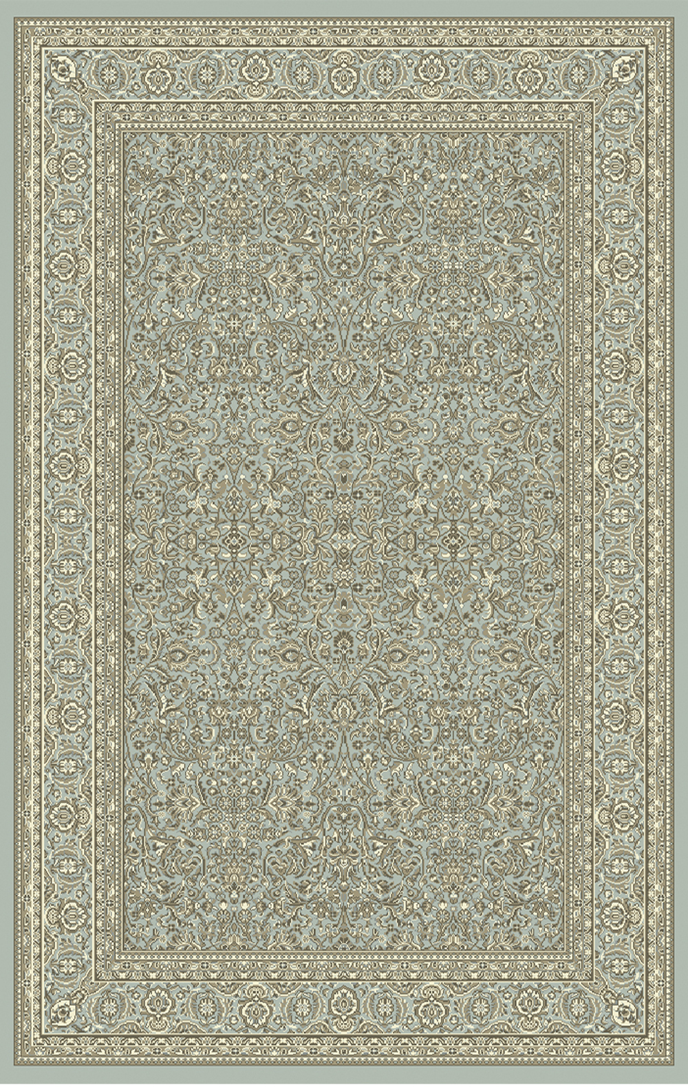 Dynamic LEGACY 58004 LIGHT BLUE Rug
