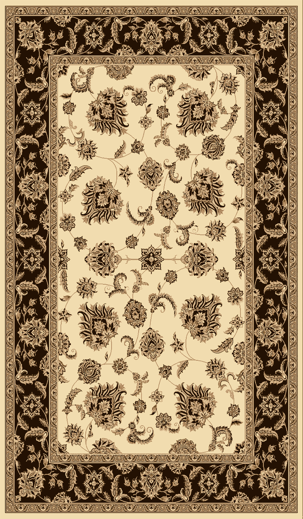 Dynamic LEGACY 58020 CREAM/BROWN Rug