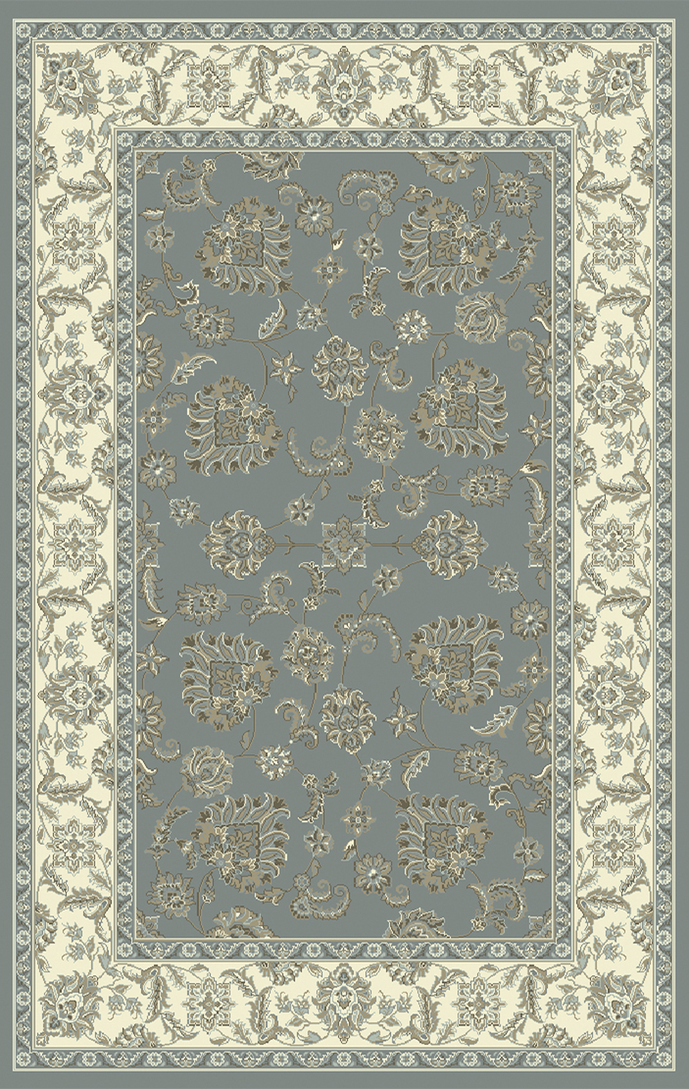 Dynamic LEGACY 58020 DARK BLUE/IVORY Rug