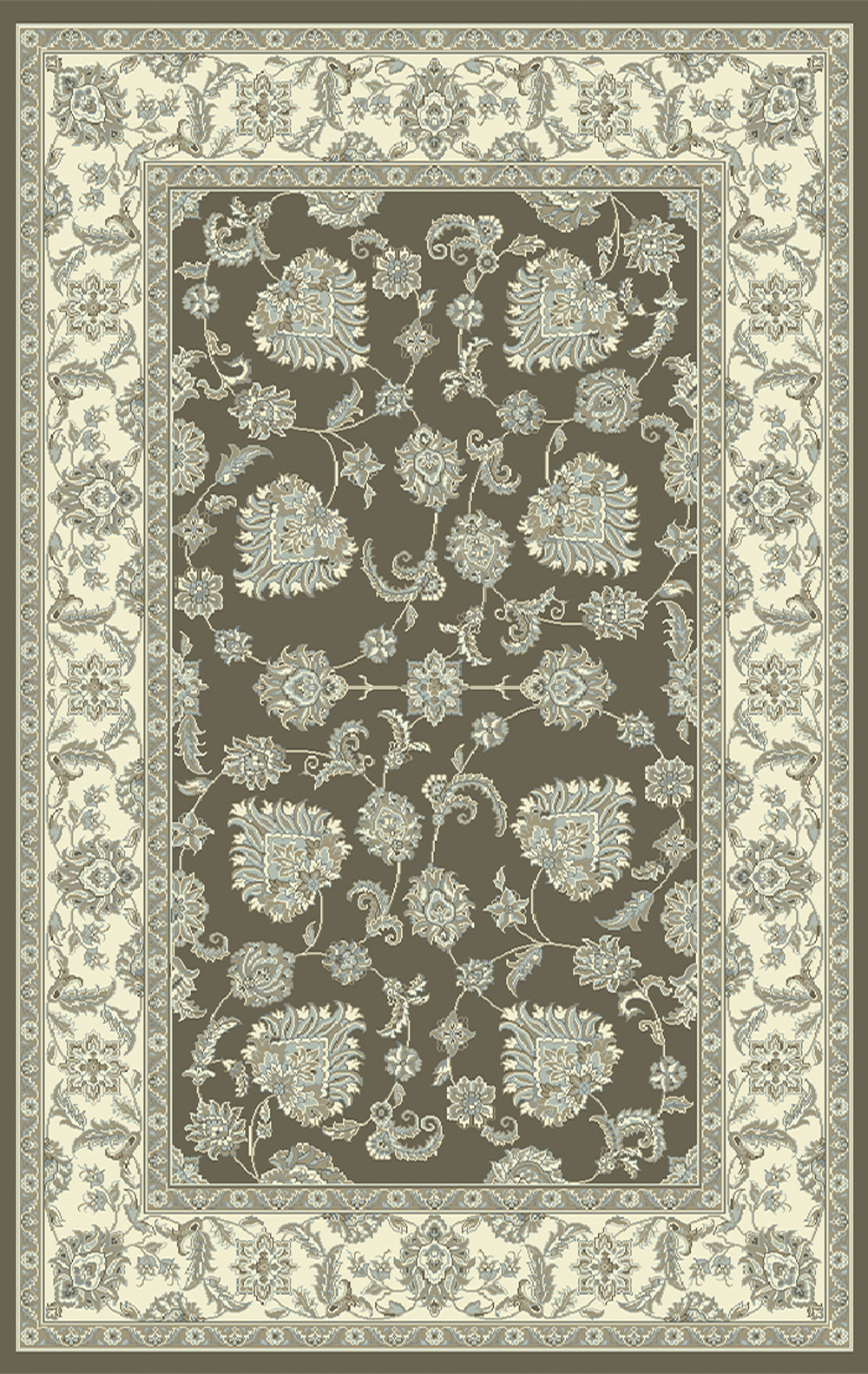 Dynamic LEGACY 58020 DARK GREY IVORY Rug