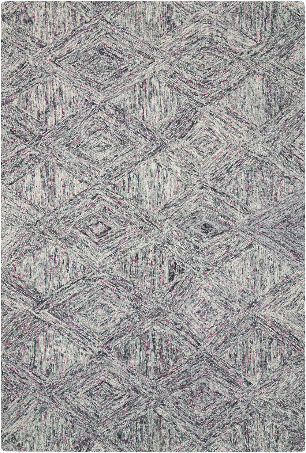 Nourison INTERLOCK ITL01 HEATHER Rug
