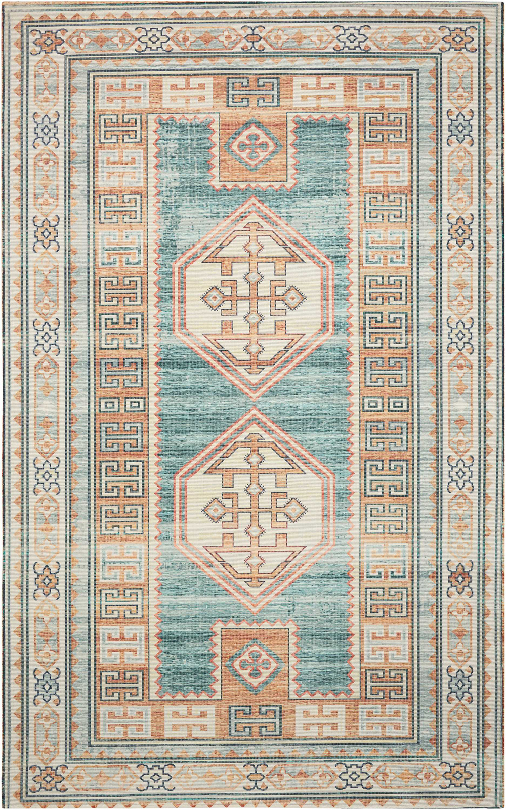 Nourison MADERA MAD04 TEAL GREEN           Rug