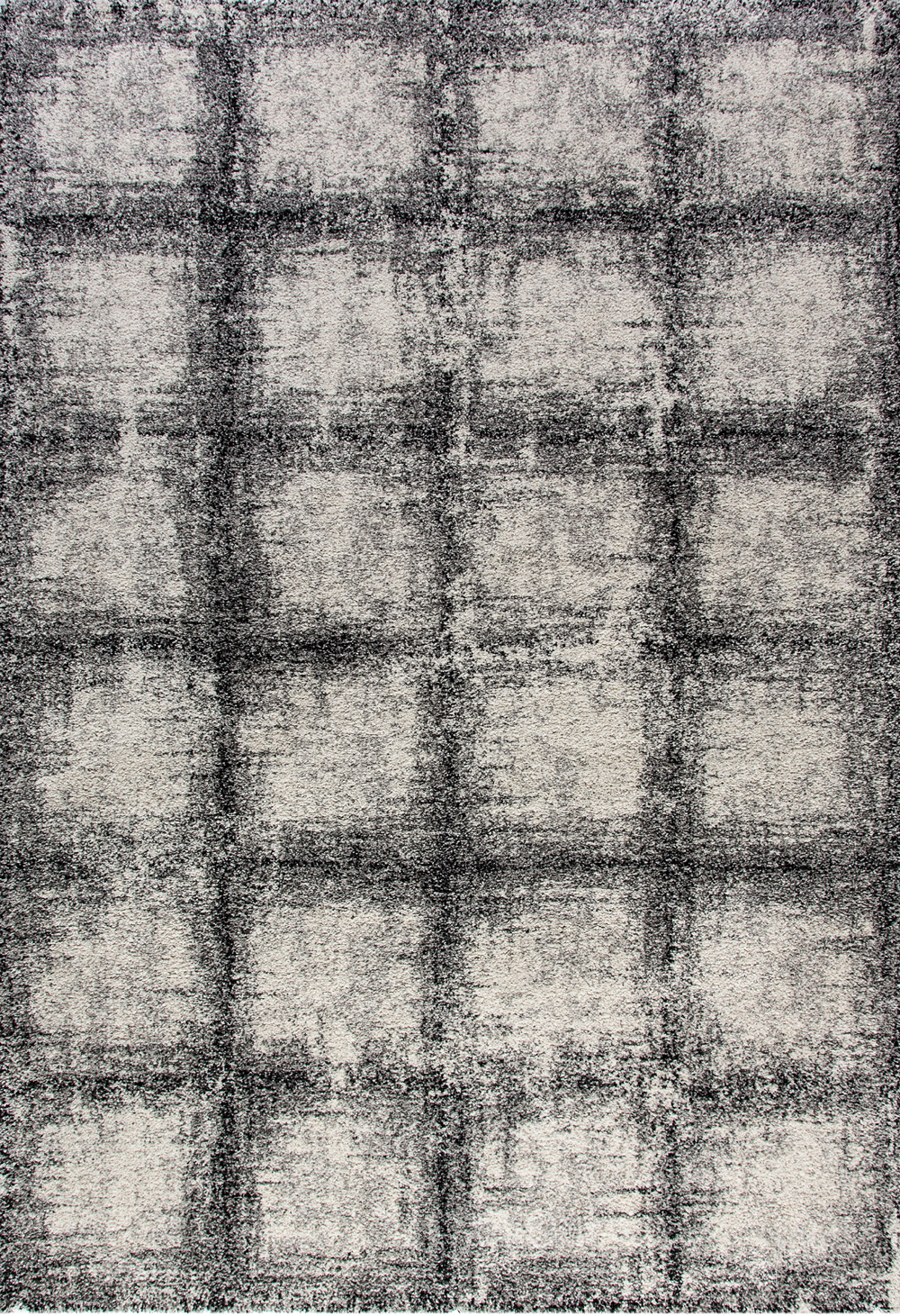 Dynamic MEHARI 23095 BLACK/WHITE Rug