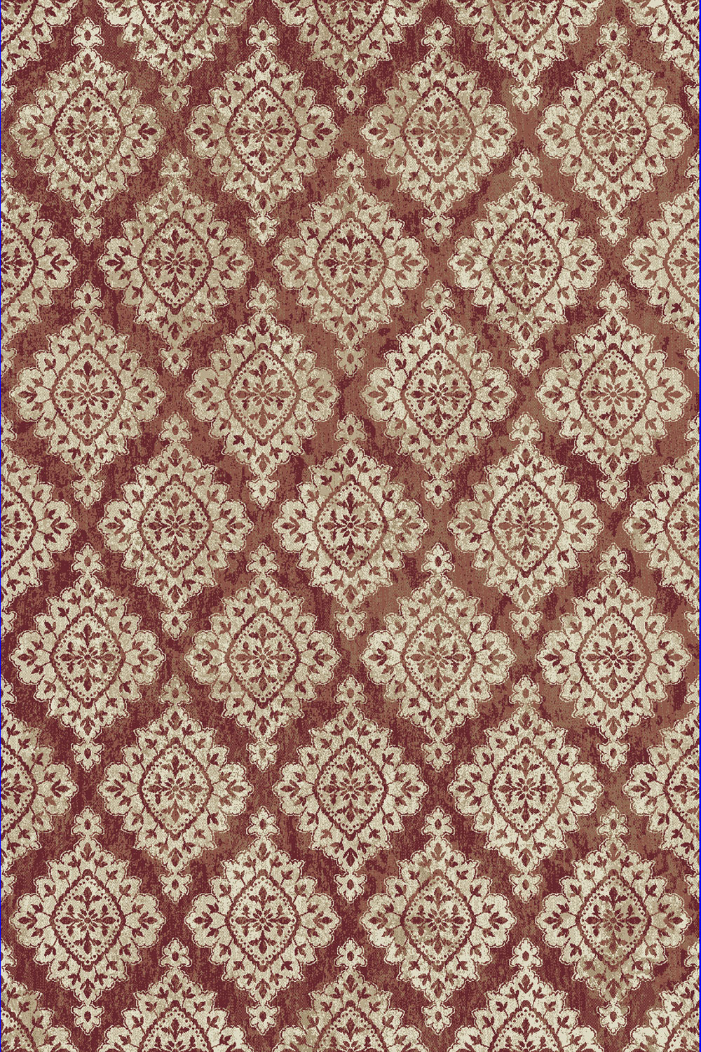 Dynamic MELODY 985015 TERRACOTTA Rug