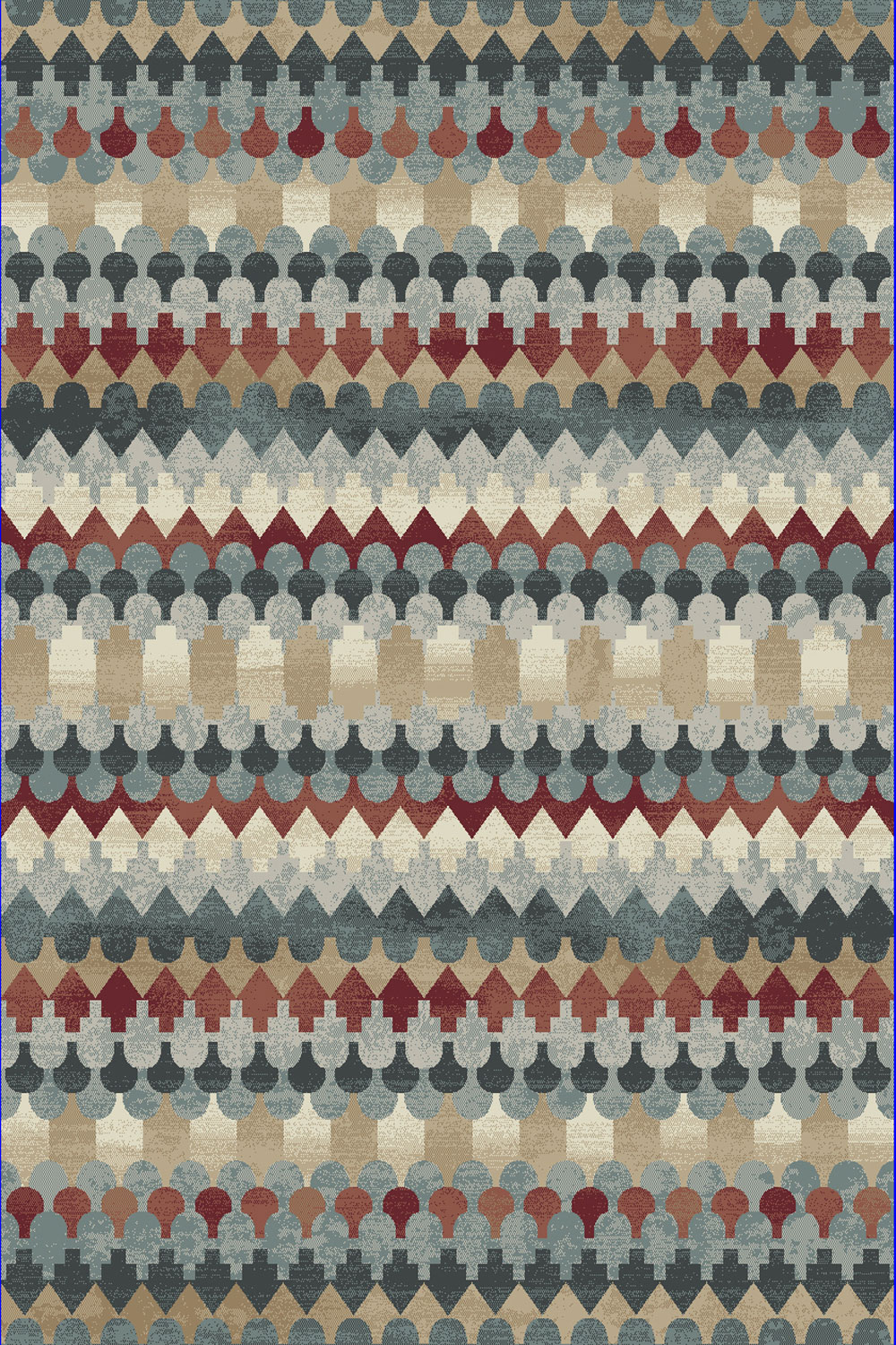 Dynamic MELODY 985016 MULTI Rug