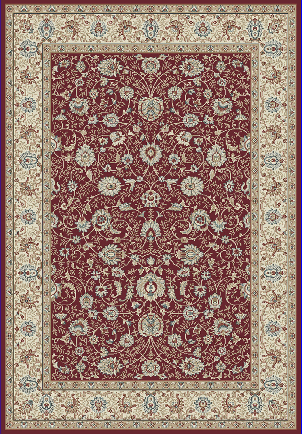 Dynamic MELODY 985022 RED Rug