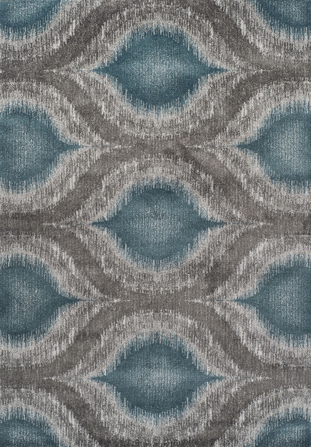 Dalyn Modern Greys MG4441 Teal Rug