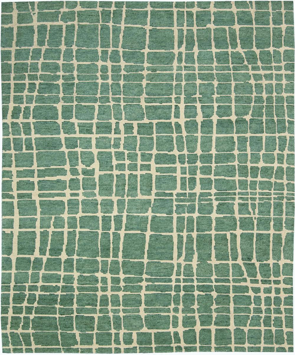 Nourison TAHOE MODERN MTA03 TURQOIS GREEN Rug