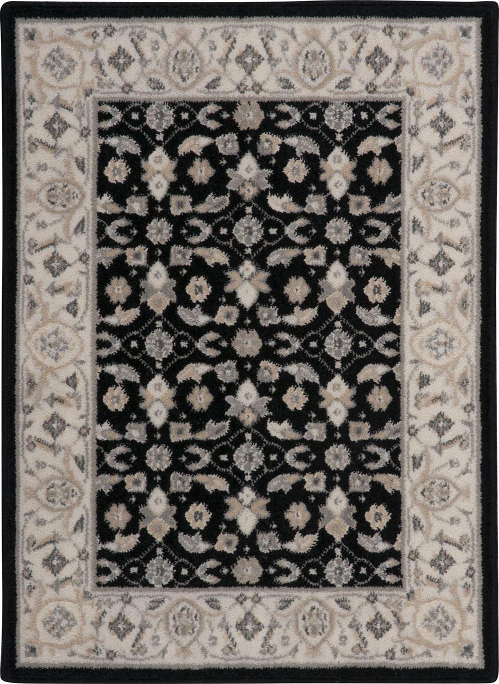 Nourison PERSIAN EMPIRE PE26 BLACK Rug