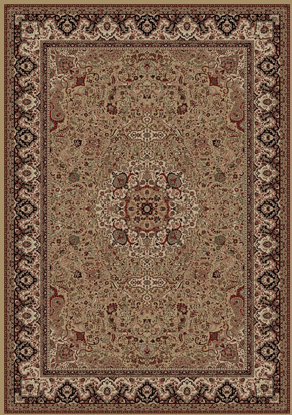 Concord Global Persian Classics ISFAHAN GOLD Rug