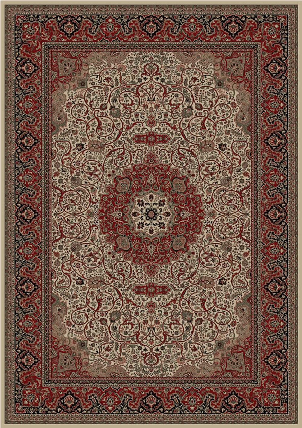Concord Global Persian Classics ISFAHAN IVORY Rug