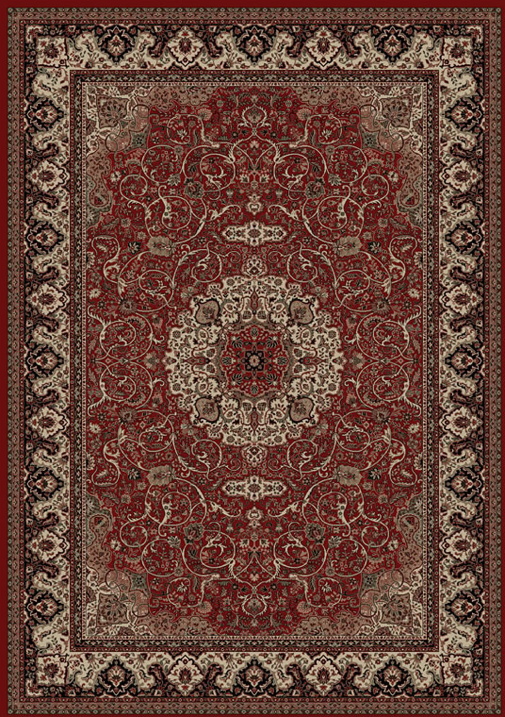 Concord Global Persian Classics ISFAHAN RED Rug