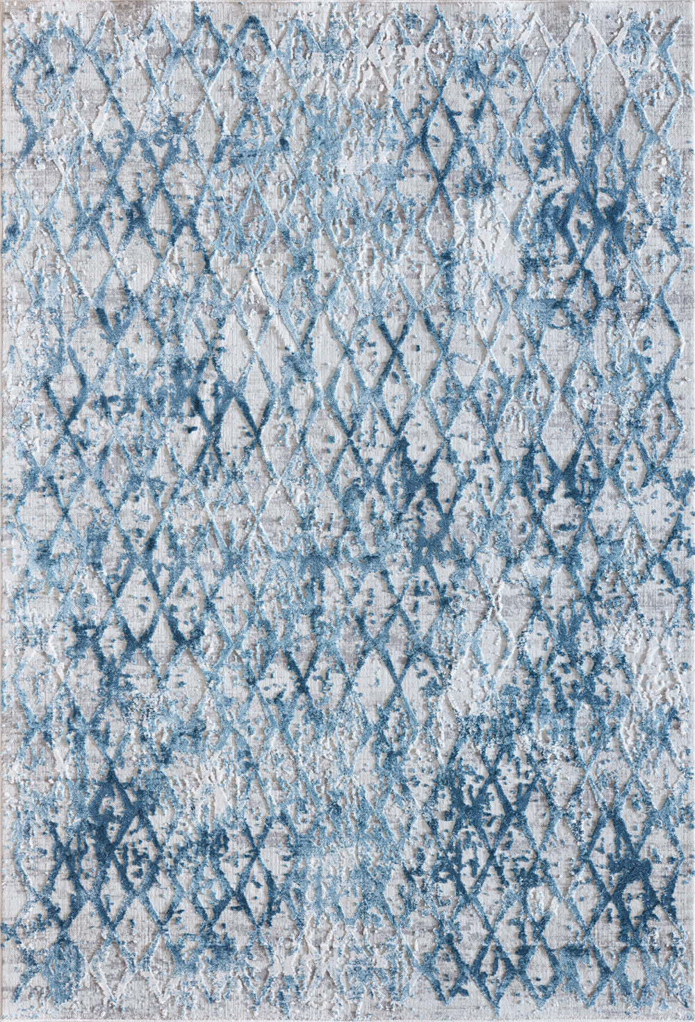 Dynamic QUARTZ 27039 IVORY/BLUE Rug