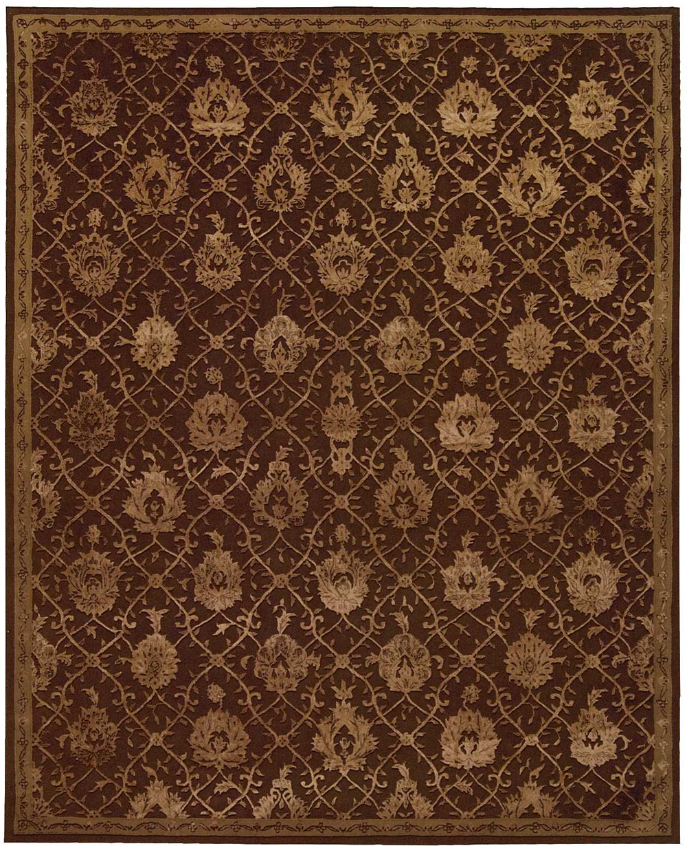 Nourison REGAL REG05 CHOCOLATE Rug