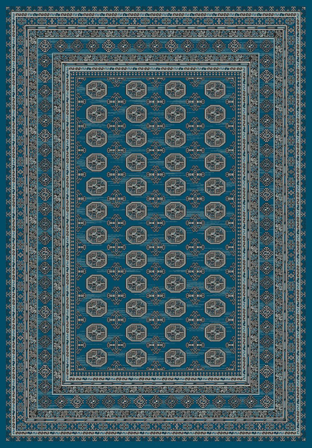 Dynamic REGAL 88404 BLUE Rug