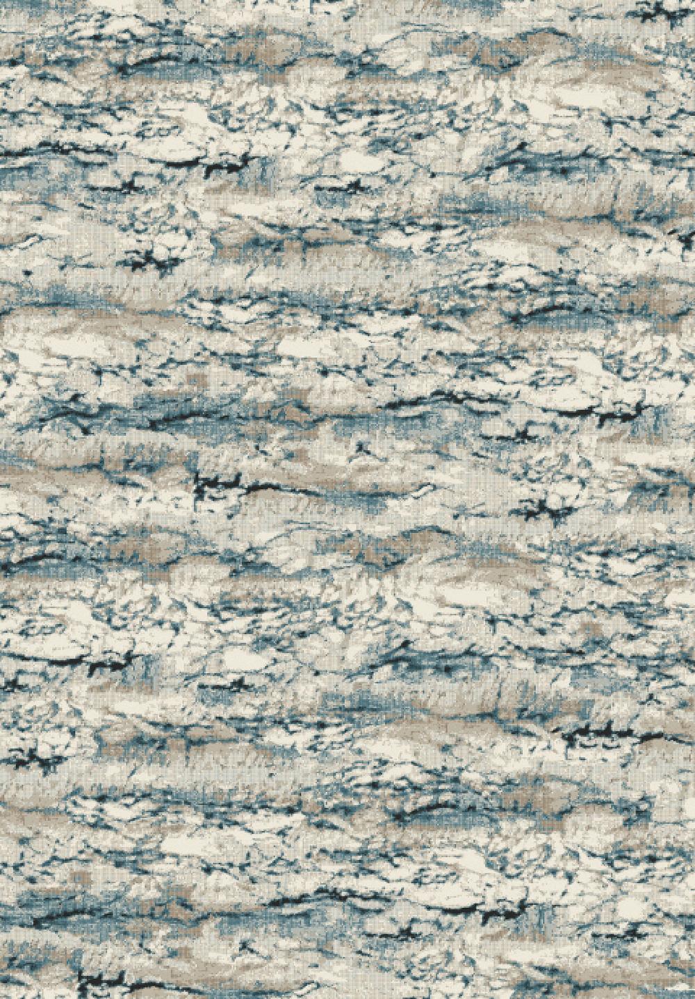 Dynamic REGAL 89584 SILVER/BLUE Rug