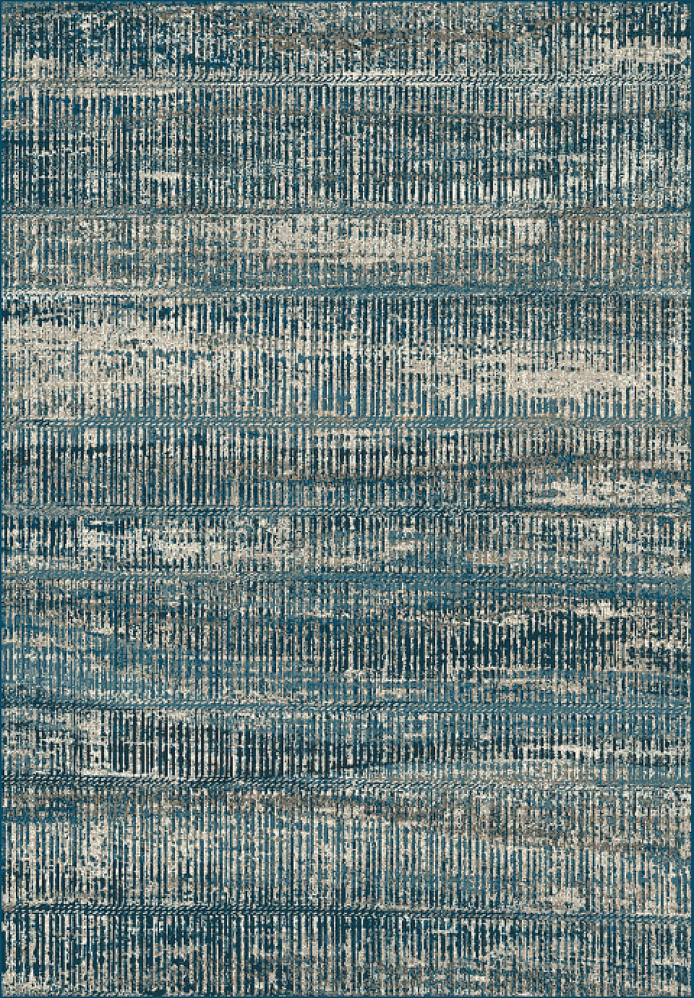Dynamic REGAL 89586 BLUE/SILVER Rug