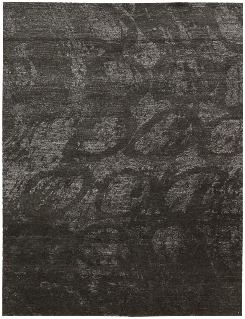 Nourison SILK SHADOWS SHA04 COAL Rug