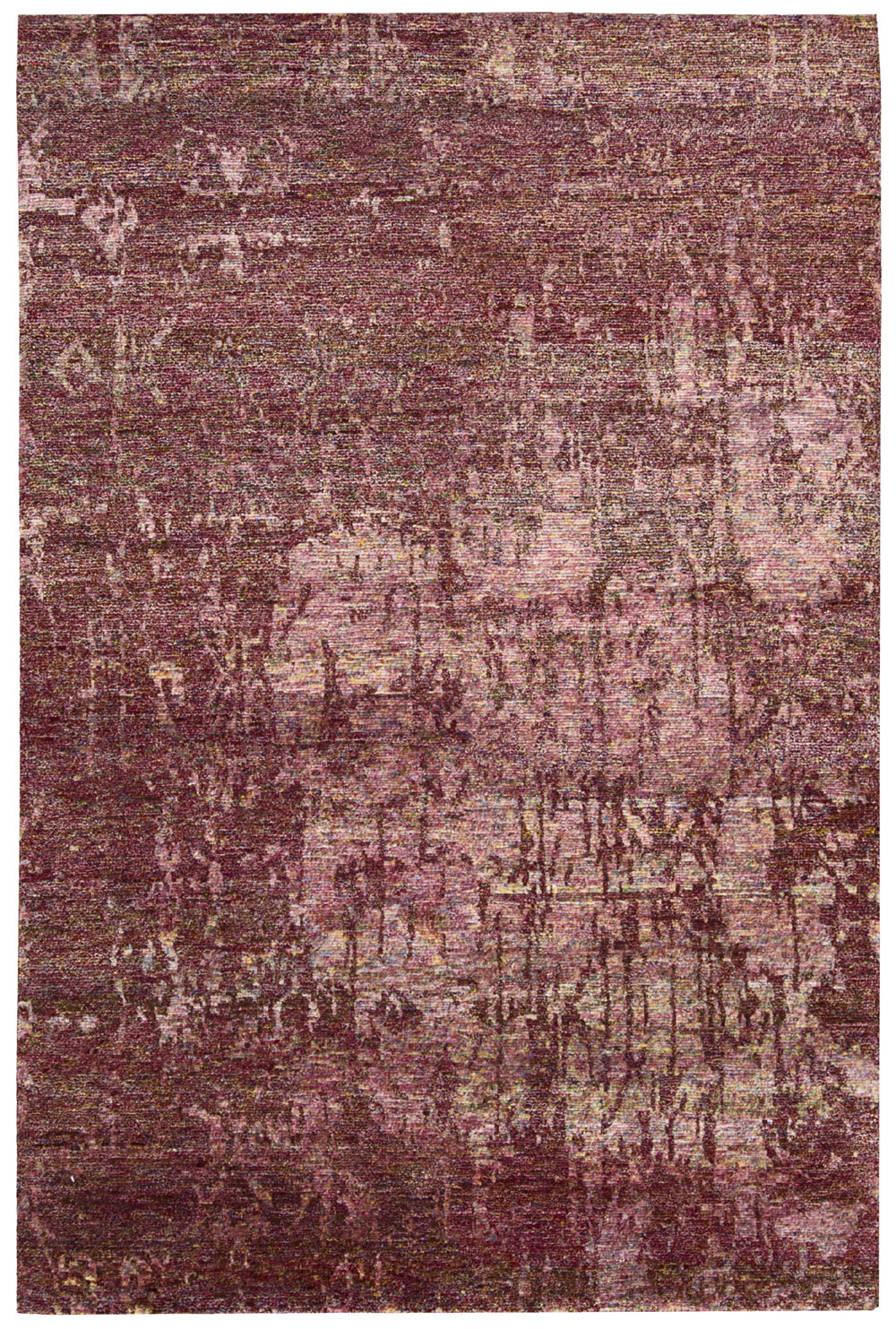 Nourison SILK SHADOWS SHA10 WINE Rug