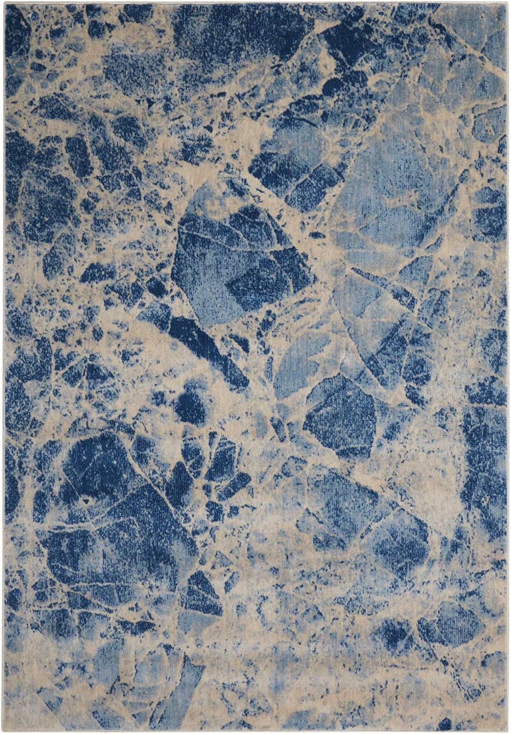 Nourison SOMERSET ST745 BLUE Rug