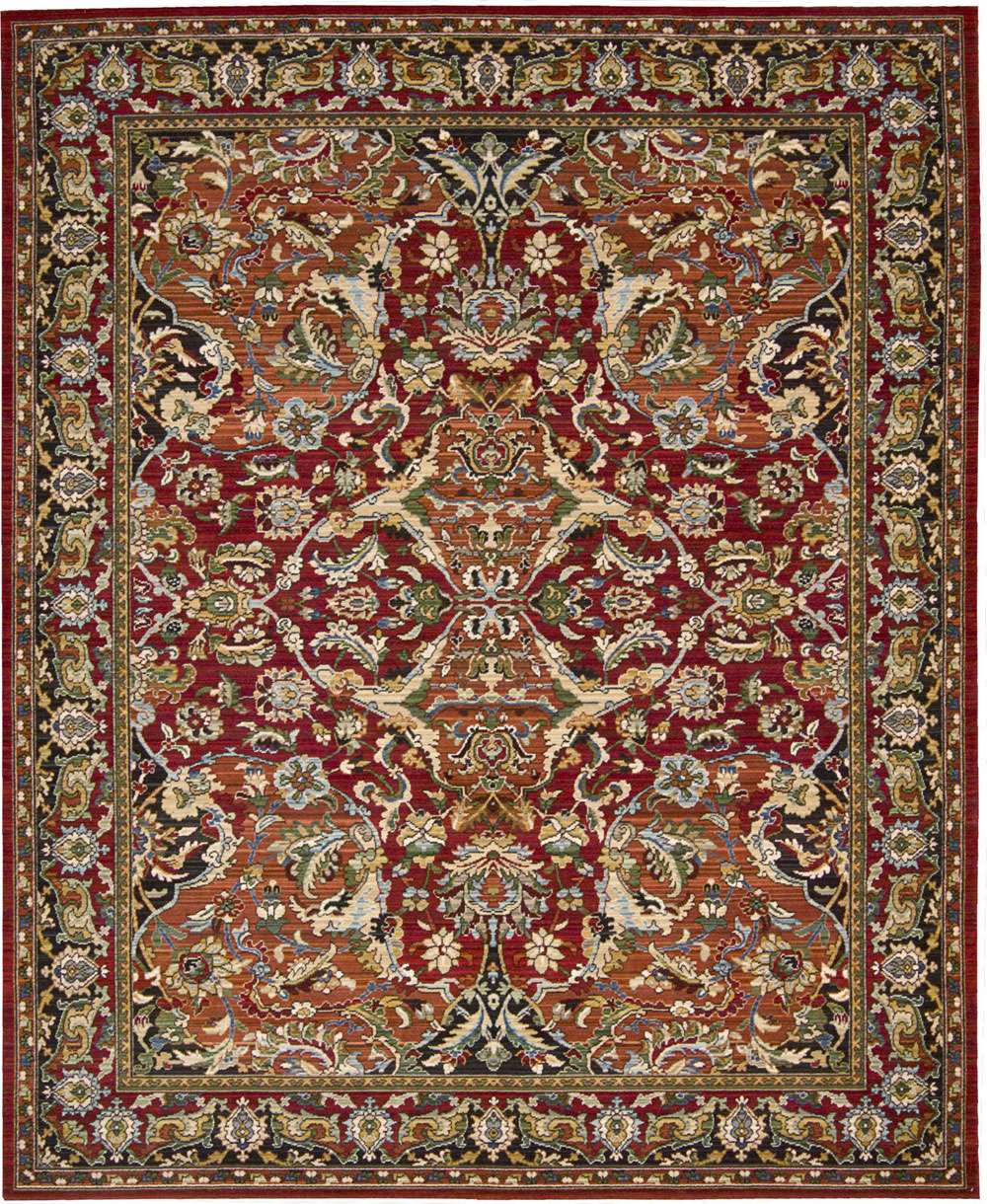 Nourison TIMELESS TML15 RED Rug