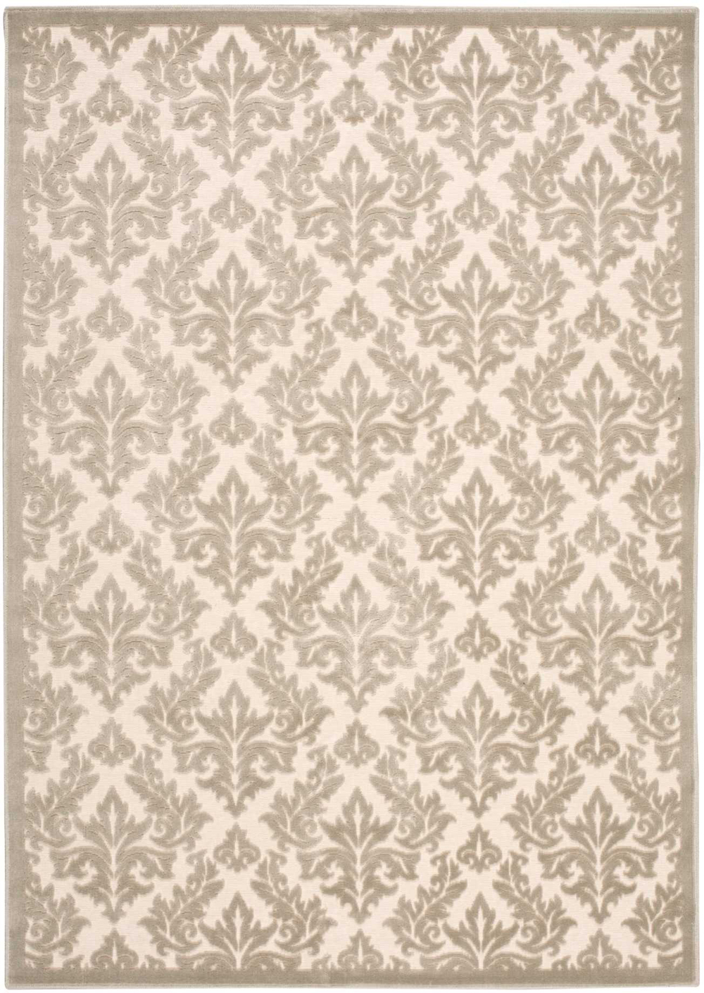Nourison ULTIMA UL632 IVORY/SILVER Rug