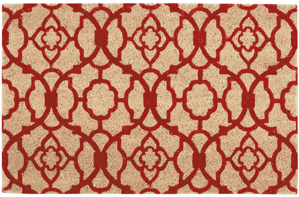 Waverly Mats WAV17 GREETINGS WGT02 RED Mat