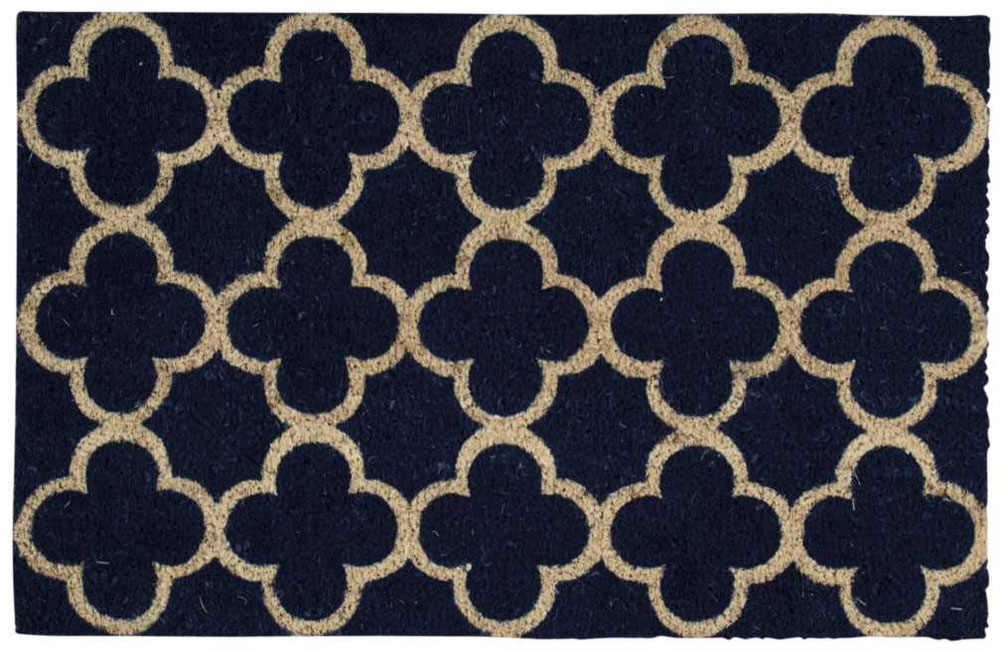 Waverly Mats WAV17 GREETINGS WGT11 NAVY Mat